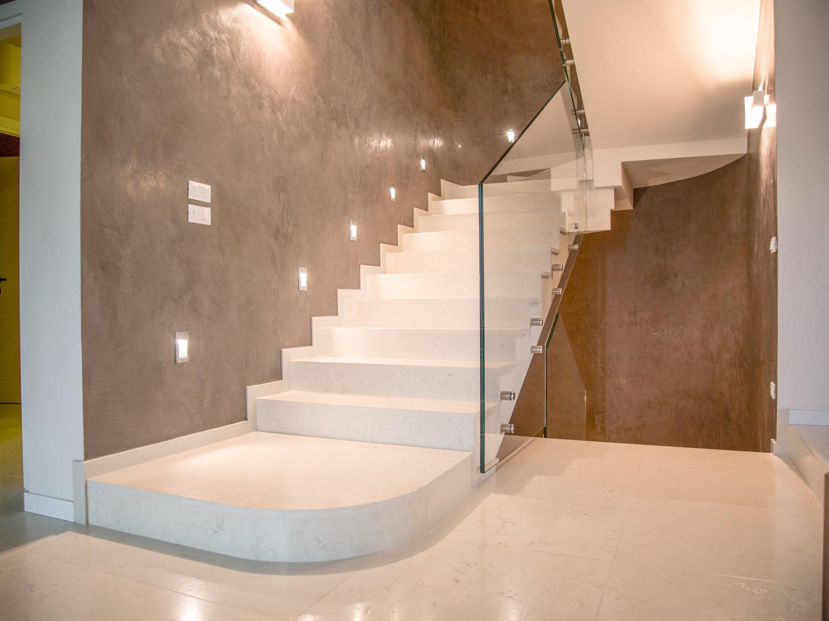Scale in pietra e marmo mignolli alfonso for Scale interne in pietra