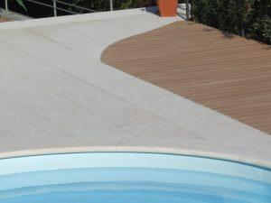 bordo piscina pietra della lessinia