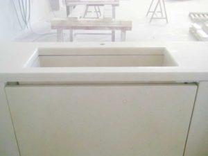 top bagno pietra bianca della lessinia