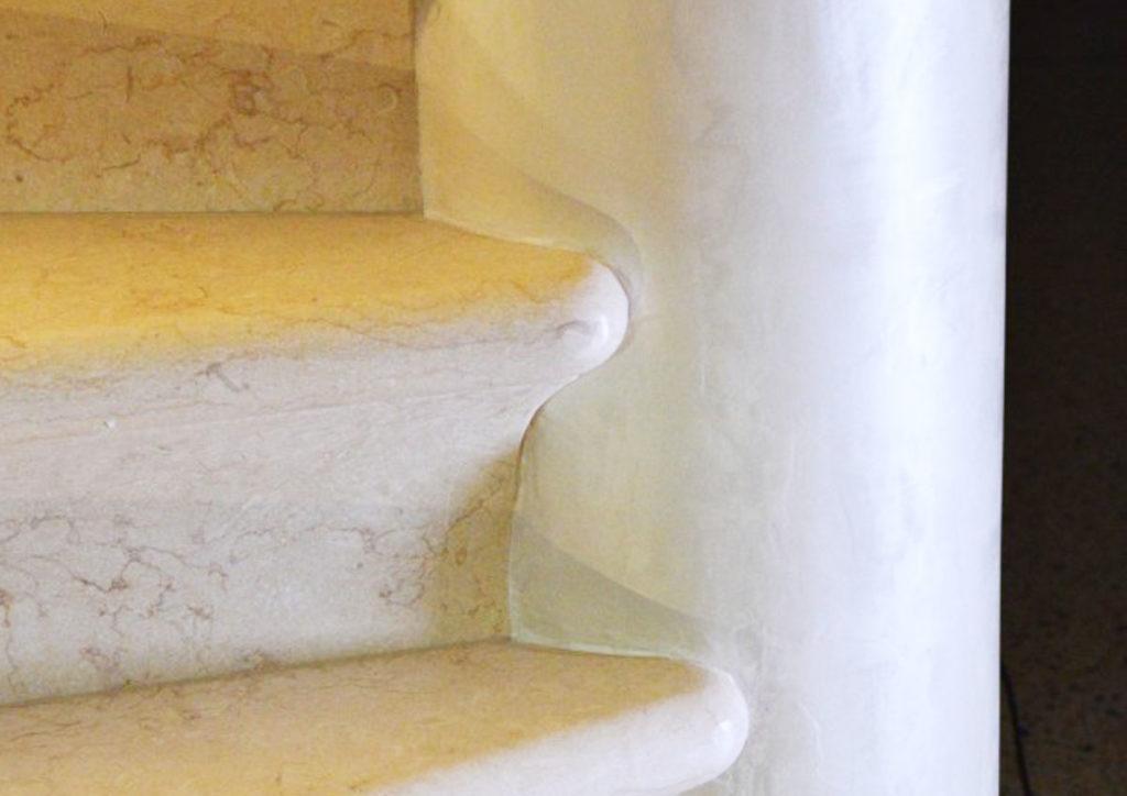 scale pietra della lessinia prun marmo